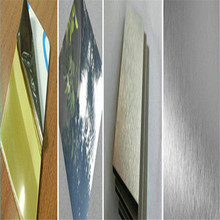 3mm anodized mirror color high reflect aluminium composite cladding panels