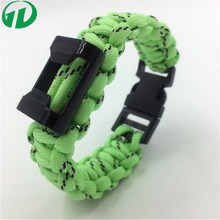 Top Rated Glow in dark paracord bracelet with Bottle opener,wholesale camping supplies