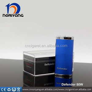 Hot -selling now 50w heatvape e cigarette mod Defender 50w ecig box mod with 18650 battery