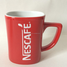 nestle audited factory to produce red nestle coffee mug cup for promotion