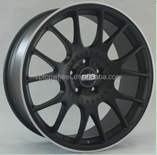 Replica BBS CH alloy wheels 18,19 inch matt black with machined lip item No.877 new style