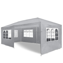 PARTY OUTDOOR WHITE WATERPROOF GARDEN TENT GAZEBO MARQUEE CANOPY 3M X 6M NEW