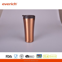 2016 New Design Stainless Steel Copper Water Bottle