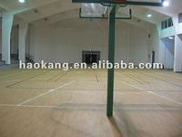 Fire resistant PVC roll floor for basketball