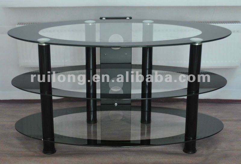 round glass dining table fancy dining tables RA018B