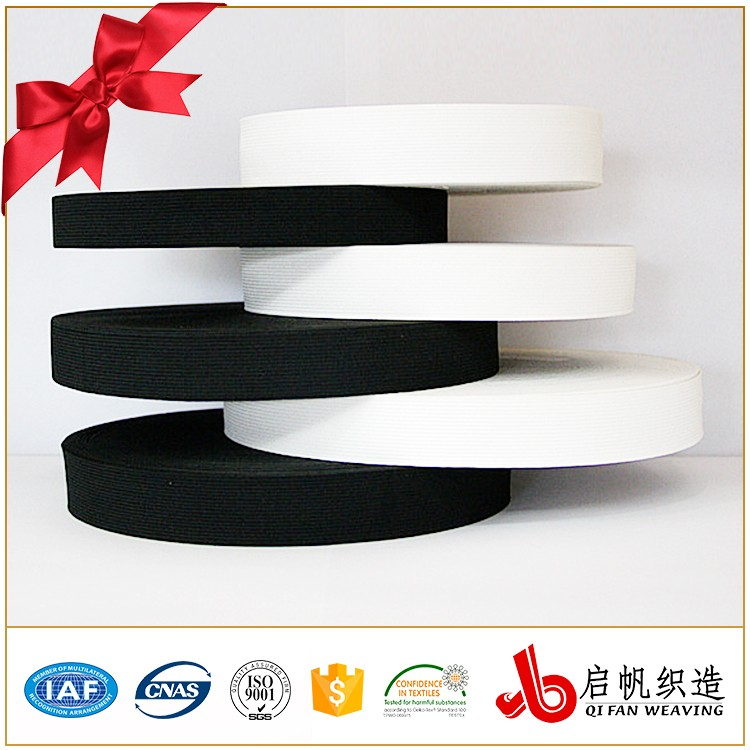 Customized knitted spandex extra wide elastic band tape