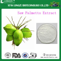 Nutritional Plant Extract Saw Palmetto Fruit Extract Powder/ Pure and Natural Saw Palmetto Extract with Fatty acid 25%-45%