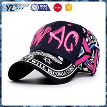 Latest product attractive style baseball caps in los angeles China wholesale