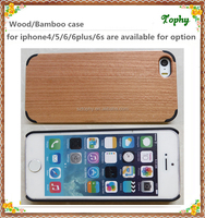 Wood Back Cover for iPhone 5s 6 Hybrid Protective Rubber Bumper Case, Multi color corners wood elegant phone case