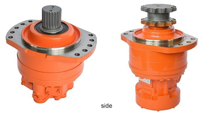 Poclain MS MSE 02, 05, 08, 11, 18, 25, 35, 50, 83, 125, 250 Hydraulic Radial Piston Single/Double Speed Wheel/Shaft Motor price