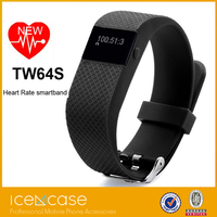 New coming private design health sports bracelet bluetooth 4.0 smart wrist band tw64 upgraded tw64s for iPhone 6S