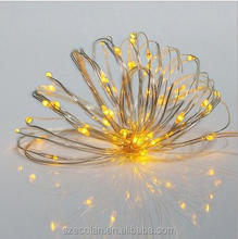 LED String Light Battery Powered with Ultra Thin Copper Wire for Trees Wedding Parties