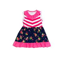 Professional toddler boutique clothes lovely baby girls dress designs