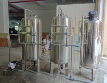 Factory direct sales 1000LPH stainless steel solar ro plant/water filter for food processing