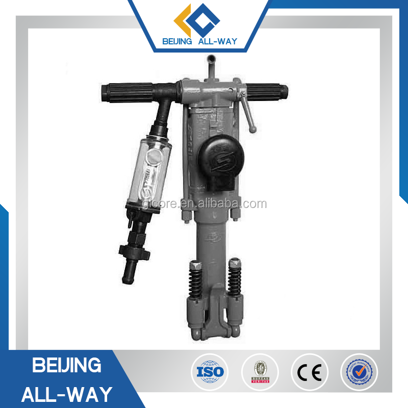 used pneumatic air leg jack hammer for excavator for sale