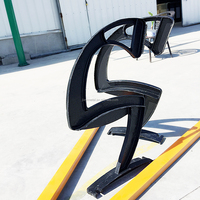 Outdoor Powder Coating Finish Black Park