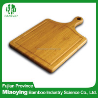 2016 Top Sale Novelty Paddle Bamboo Chopping Board