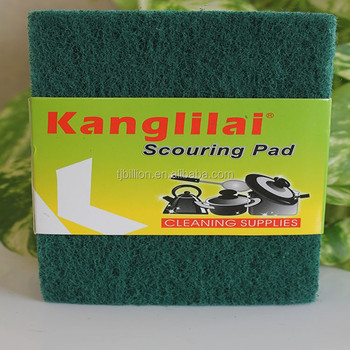 China Products Eco Friendly Kitchen Scouring Pad Material Innovative  Products For Import