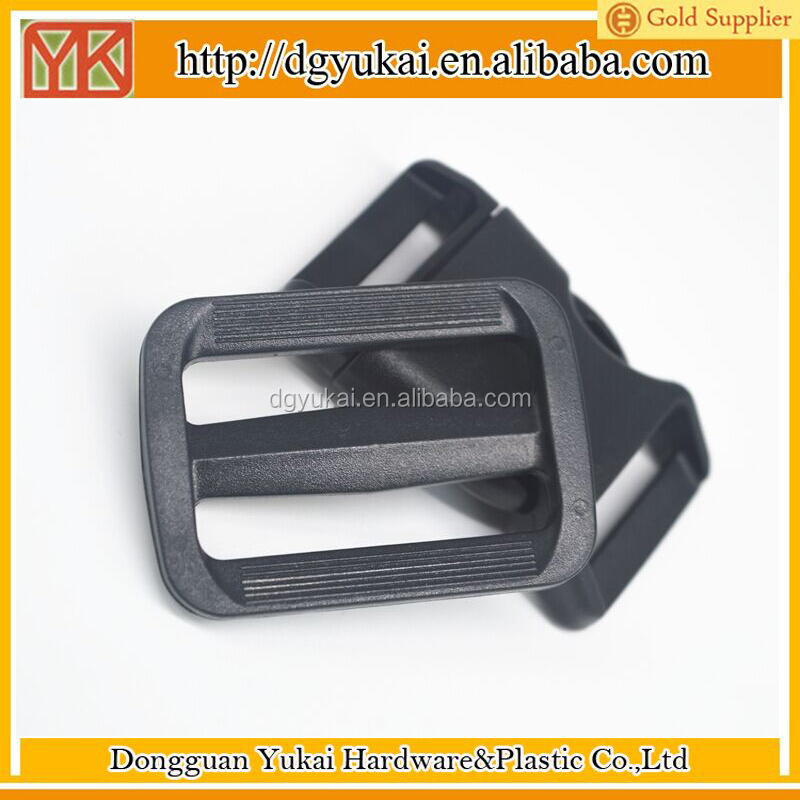 Yukai Plastic big strap tri glide slider buckle 2 inches