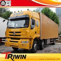manufactuer customized 6x2 8-wheel drive diesel engine 220hp euro4 van truck cargo 10ton