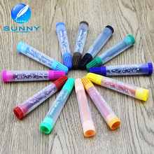 multi plastic water color marker washable water color pen with non-toxic ink