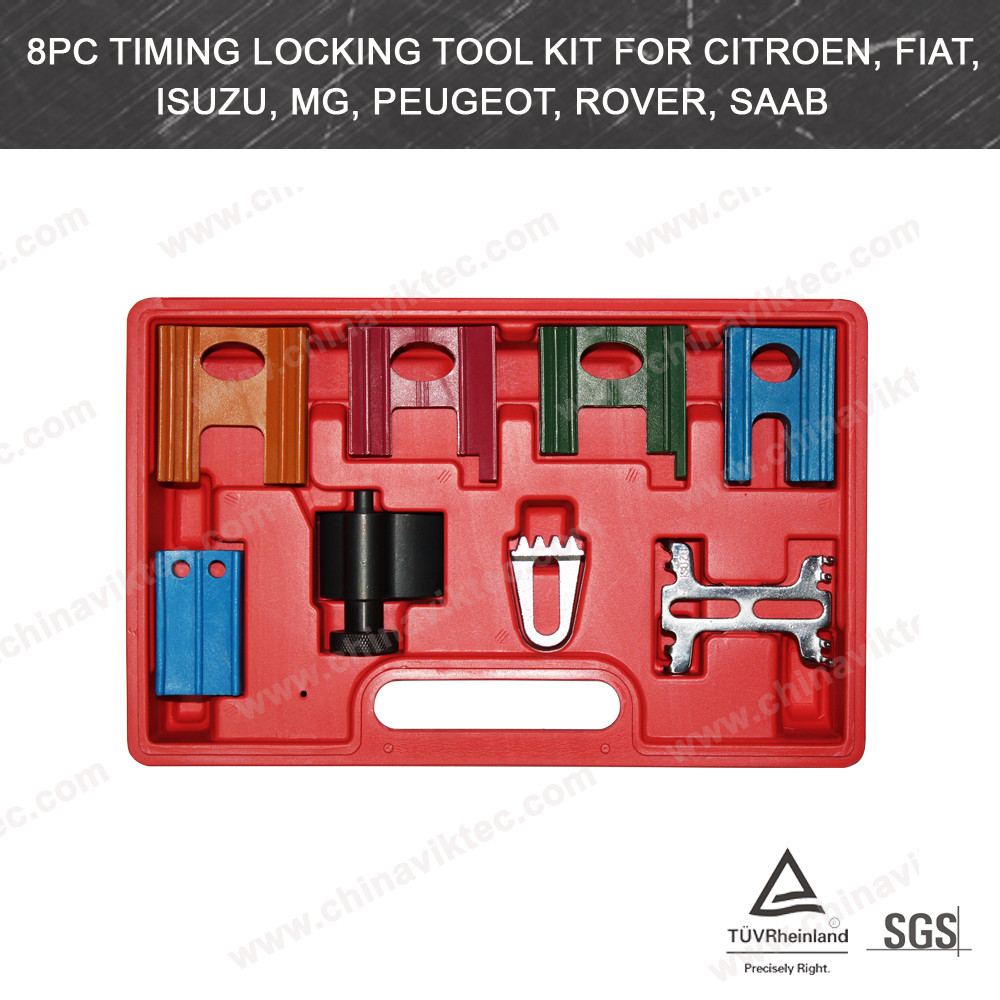 8pc Timing Locking Tool Kit for Citroen and Fiat (VT01065)