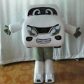 TV & movie car mascot costume/custom mascot costume/costume