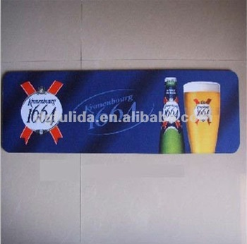 good looking customized Bar accessories nature rubber bar mat