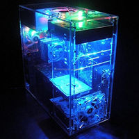 OEM manufacture acrylic glass plexiglass computer case