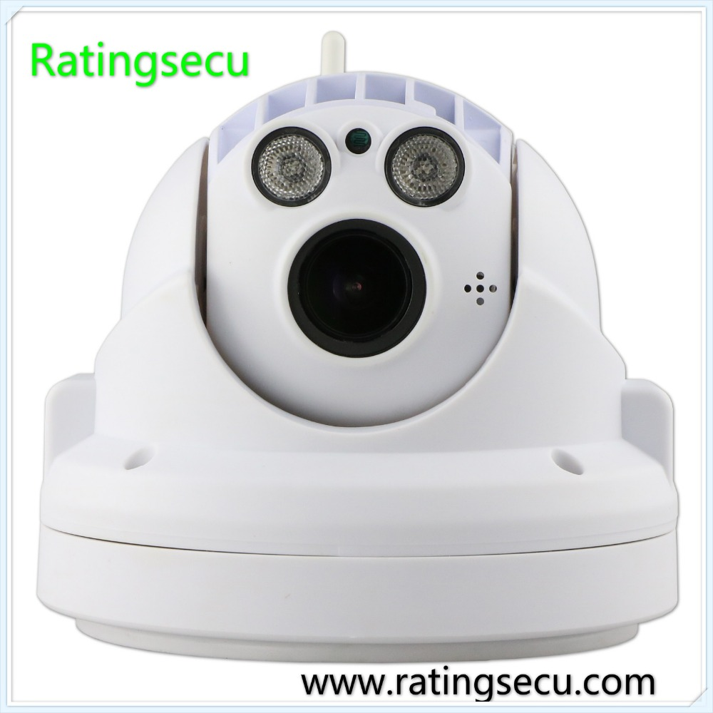Indoor wireless 1080p 2.4mp ir speed dome 18x optical zoom ptz ip camera