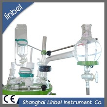 Laboratory chemical single layer glass stirrer reactor