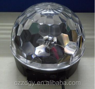 12v led crystal magic ball disco light christmas lights with patterns