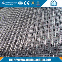 Good quality 6x6 concrete reinforcing welded wire mesh
