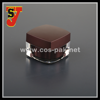 Day & Night Cream Acrylic Cosmetic Jar For Cosmetic Packaging