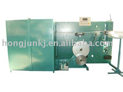 Pure aluminum flexible duct forming machine