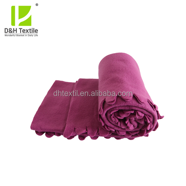 Polar Fleece Hospital Bath Blanket Made In China