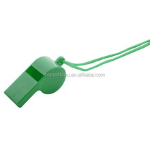 Best selling plastic whistle with necklace
