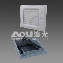 evaporative air cooler air vent louver