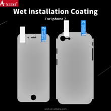 New design apply screen protector with water for iphone 7 plus