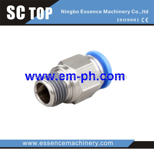 pneumatic sleeve fitting pneumatic sleeve fitting one touch tube fittings with o-ring (bspp g) pkb-g male triple branch