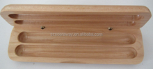 Custom wooden pencil box pen packaging box wooden gift box for pen