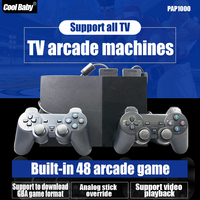 TV Arcade Machine Built-in 48 Arcade Games Support GBA Downloading