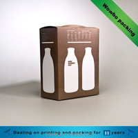 creative cardboard milk carton with handle