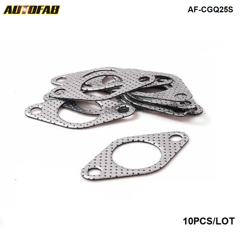 AUTOFAB - ID:40MM/33MM GRAPHITE ALUMINUM <strong>WASTEGATE</strong> DUMP PIPE TUBE FLANGE GASKET 35MM/38MM TURBOCHARGER AF-CGQ25S