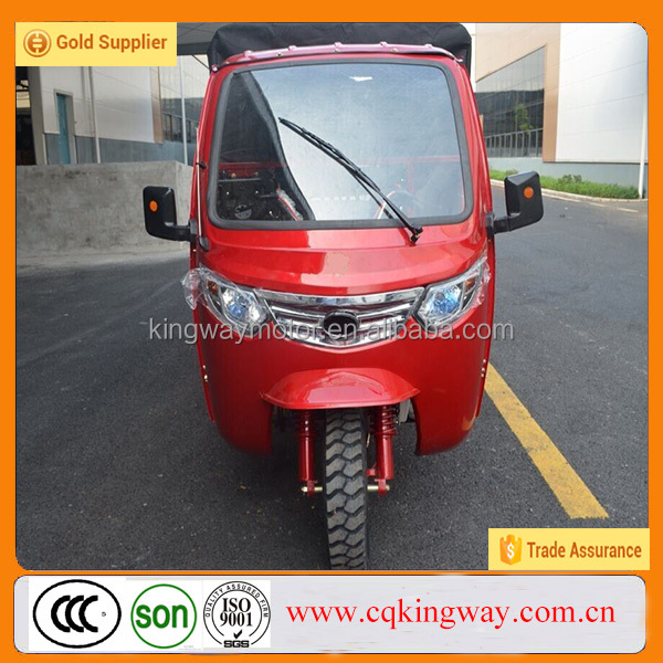Chongqing Factory Direct Sale Motorized 300cc Trike Motorcycle Water Cooled Three Wheels