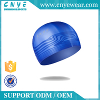 CNYE 2016 Funny Cheap Liquid Silicone Novelty Rubber Swim Cap For Adults