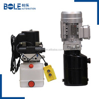 Customizable Pallet Truck Mini Hydraulic Power Pack 12VDC/ 24VDC 0.8KW