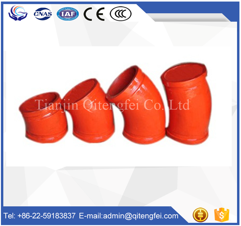 concrete pump pipe bends / siphon