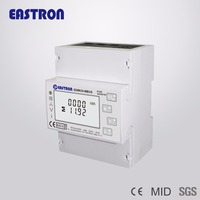 SDM630-Mbus Solar PV three phase energy meter bi-directional measurement , Multifunction power analyser, Mbus , MID approved
