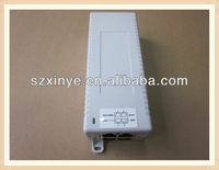 High quality 2port 90W PoE network hub price with desktop enclosure 100Mbps